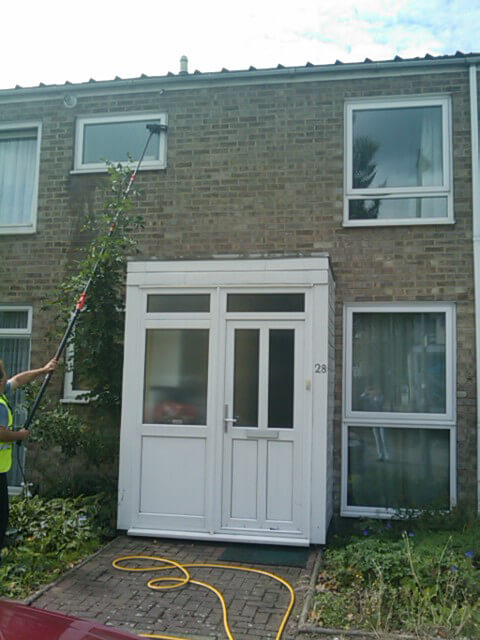 Domestic window washing for North Finchley homeowners