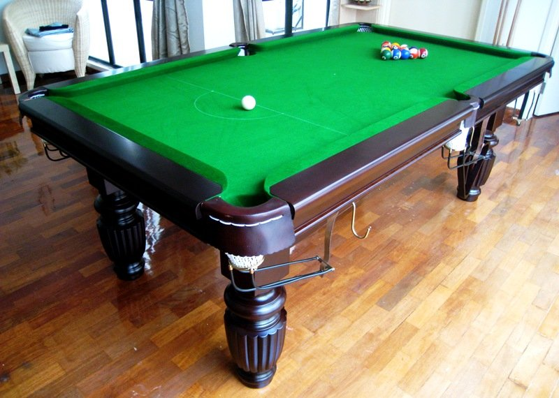 Cleaning a Pool Table